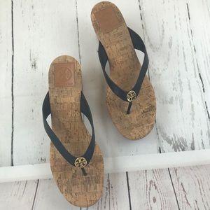 Tory Burch Thong Wedge Sandals